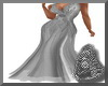Silver Formal Gown