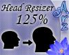 [Arz]125% Head Resizer