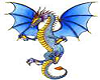 Blue n Gold Dragon